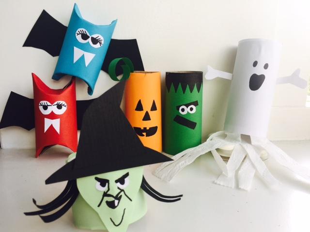 knutsel ideeen,halloween knutselen