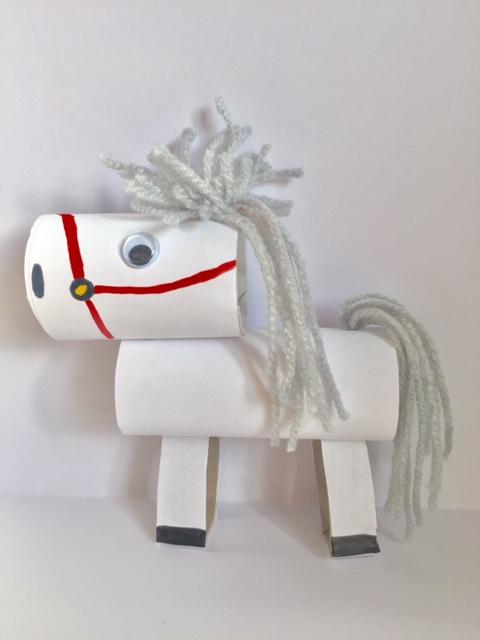 ozosnel,ohzosnel,amerigo knutselen,paard van sinterklaas knutselen