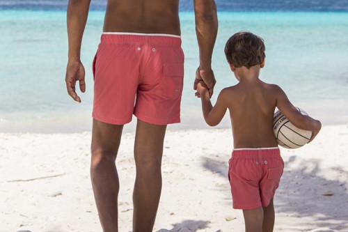 vader en zoon zwembroeken,zwemshorts ramatuelle,vader en zoon zwembroek,vader zoon zwemshorts,matching father son swimshorts,leuke zwembroeken