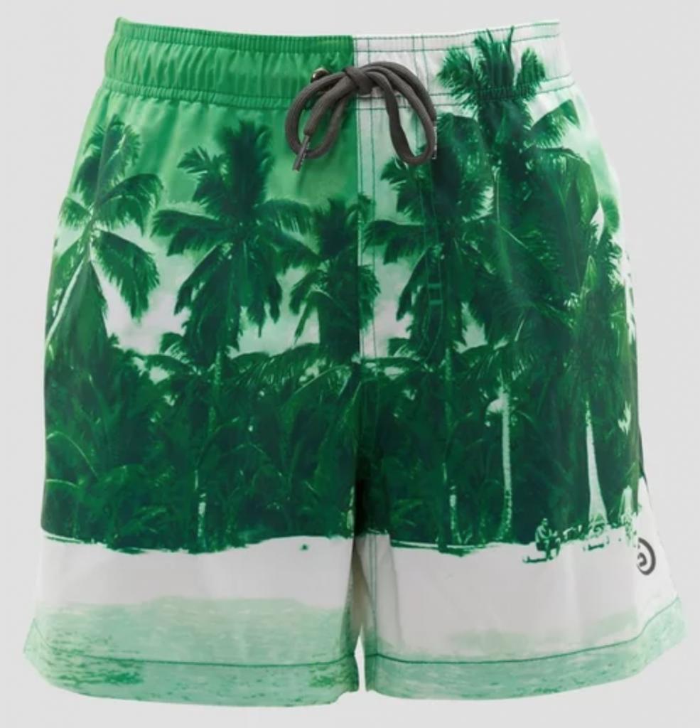 vader en zoon zwembroeken,spex jongens zwemshort groen palmboom,tip vaderdag cadeau,cadeau vader,idee vaderdag cadeau