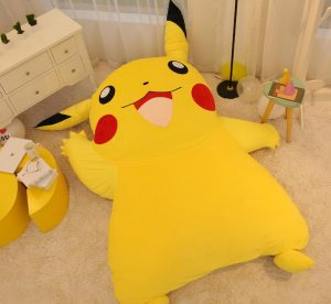 Stupendous Pikachu Zitzak Om Op Te Chillen Jongens En Meiden Gmtry Best Dining Table And Chair Ideas Images Gmtryco