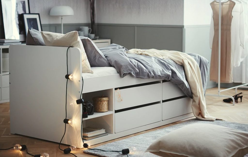 kinderbed,ikea kinderbed,kinderbed met lades,slakt bed ikea