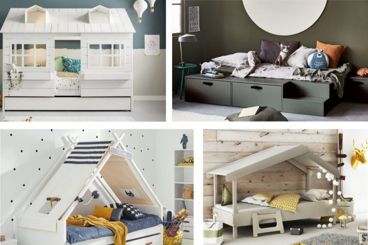 kinderbed,kinderbedden,hoogslaper,halfhoogslaper,huis bed,tipibed,hutbed,lifetime bed,bebies first,vt wonen stage bed