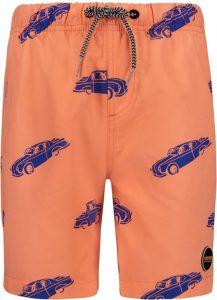 vader en zoon zwembroeken,shiwi oranje jongens zwembroek met auto's