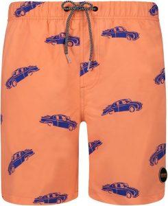 vader en zoon zwembroeken,shiwi oranje zwembroek met auto's