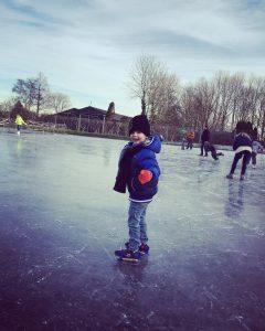kinderschaatsen,glij ijzers