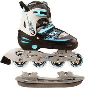 kinderschaatsen,skeeler schaatsen,schaatsen waar je skeelers van kunt maken