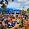 kinder attracties,cars attractie disneyland parijs,cars Quatre Roues Rallye
