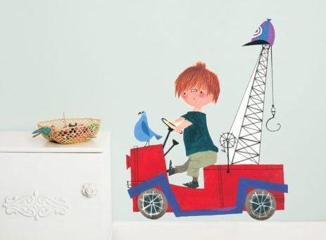 Behang Kinderkamer Regenboog : Behang kinderkamer: hip lief of stoer? jongens en meiden