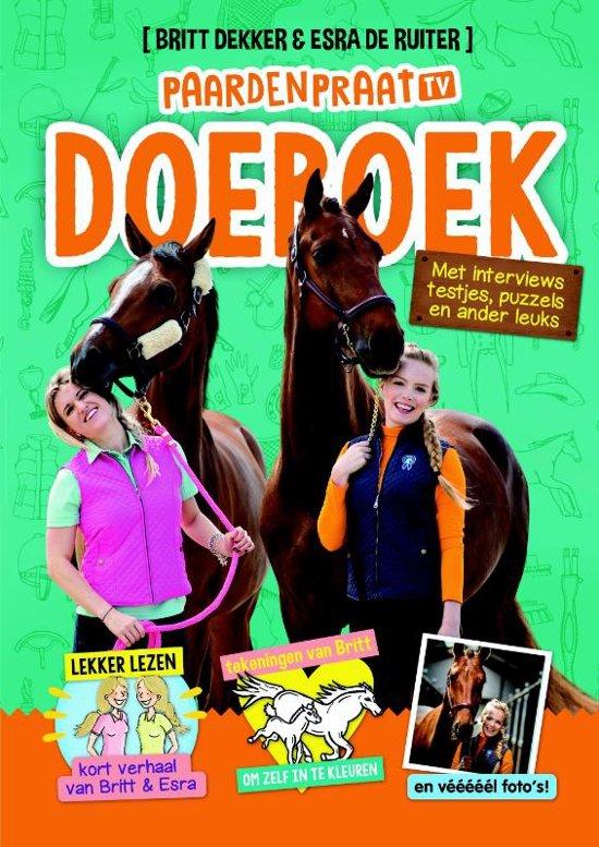 paardenboeken,boeken over paarden,paardenpraat tv doeboek