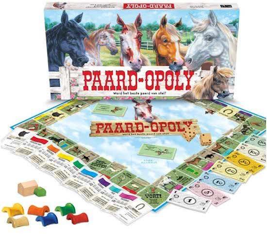 paardopoly,paarden monopoly,paardenspel,bordspel paarden,leuke paarden spelletjes,leuke paarden spellen,monopoly met paarden,bordspel voor paardenfans