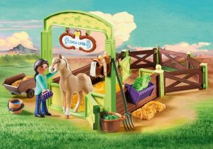 spirit speelgoed,cadeau spirit,pru en chica linda met paardenbox,playmobil 9479,spirit speelgoed,playmobil spirit
