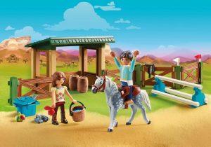 spirit speelgoed,cadeau spirit,arena met lucky en favier,70119 playmobil