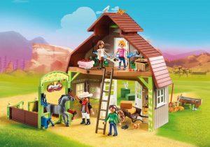 spirit speelgoed,cadeau spirit,schuur met lucky pru en abigail,70118 playmobil