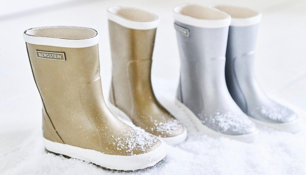 meisjes laarzen,kinder regenlaarzen,bergstein laarzen goud en zilver