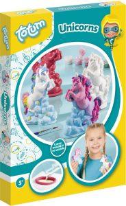 unicorn cadeau,totum unicorns,unicorns knutselen,unicorns maken van gips
