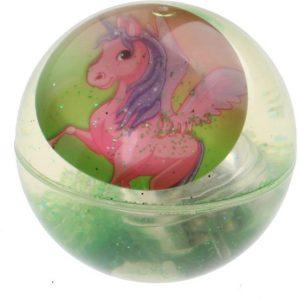 unicorn cadeau,groene unicorn stuiterbal