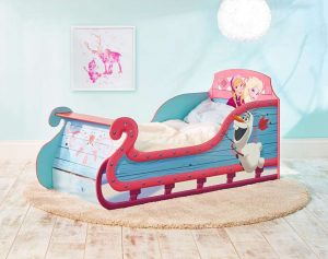peuterbed,frozen peuterbed,disney frozen bed,kinderbed frozen