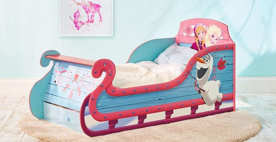 sneeuwspelletjes,frozen peuterbed,disney frozen bed,kinderbed frozen,slee bed frozen