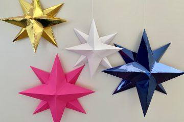 kerst knutselen,kerst diy,ster knutselen,ster maken,sterren knutselen,sterren diy,sterren vouwen,kerstster maken,kerstster knutselen,origami ster