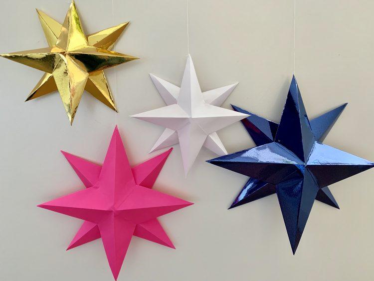 kerstmis vieren corona,kerst knutselen,kerst diy,ster knutselen,ster maken,sterren knutselen,sterren diy,sterren vouwen,kerstster maken,kerstster knutselen,origami ster,kerstversiering knutselen,kerstversiering maken