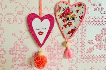 valentijn knutselen,zelf hartjes knutselen,knutselen valentijnsdag
