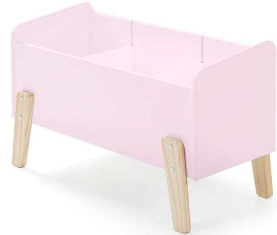kinderkamer accessoires,roze speelgoedbank