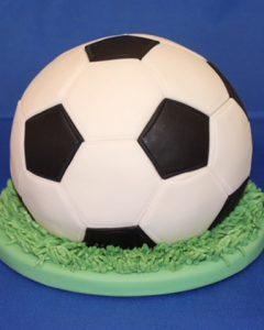 kinder verjaardagstaarten,voetbal taart