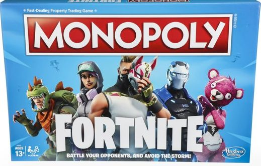 fortnite cadeaus,fortnite monopoly