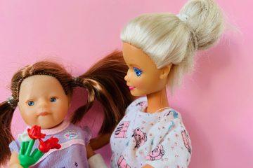moederdag cadeaus,cadeau moeder,barbie met kind