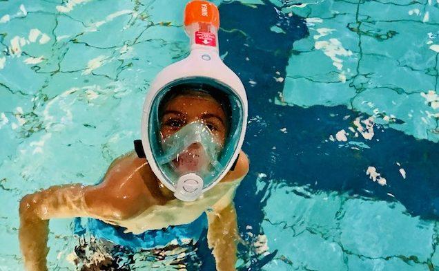 snorkelmasker easybreath junior,snorkelmasker kind