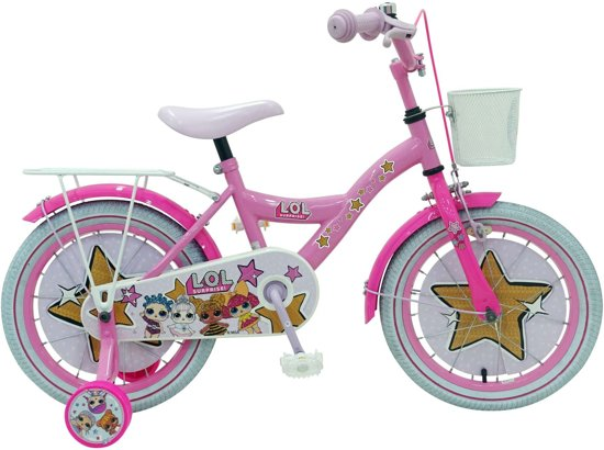 lol surprise,kinderfiets lol surprise,fiets lol,meisjesfiets 16 inch