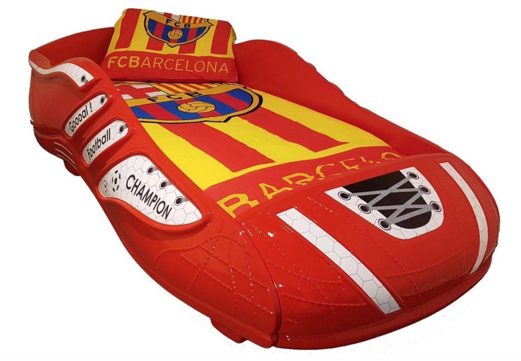 voetbalkamer,voetbalbed,fc barcelona bed,ajax bed,psv bed,feyenoord bed,voetbal slaapkamer