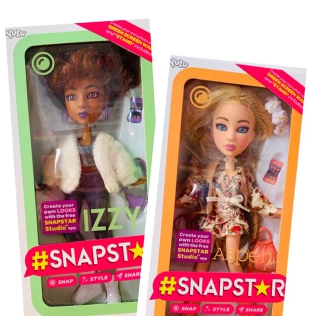 snapstar,izzy,aspen,dolls