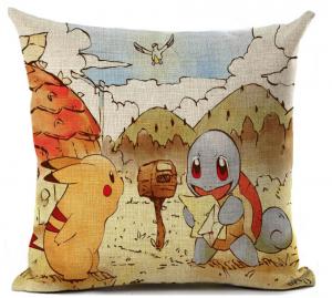 pokemon slaapkamer,pokemon kussen,pikachu kussen