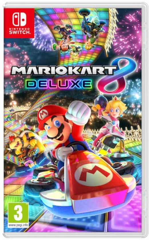 nintendo switch spelletjes,super mario kart 8 deluxe