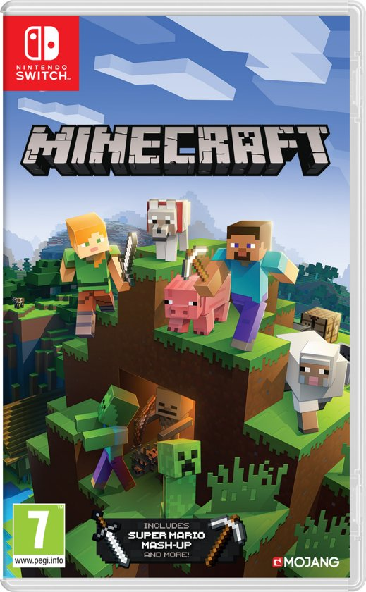nintendo switch spelletjes,minecraft