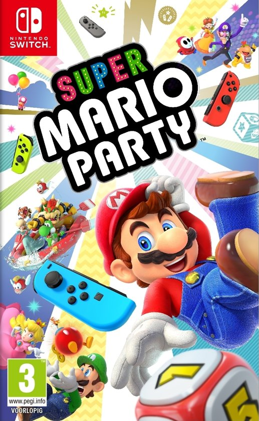 nintendo switch spelletjes,super mario party nintendo switch