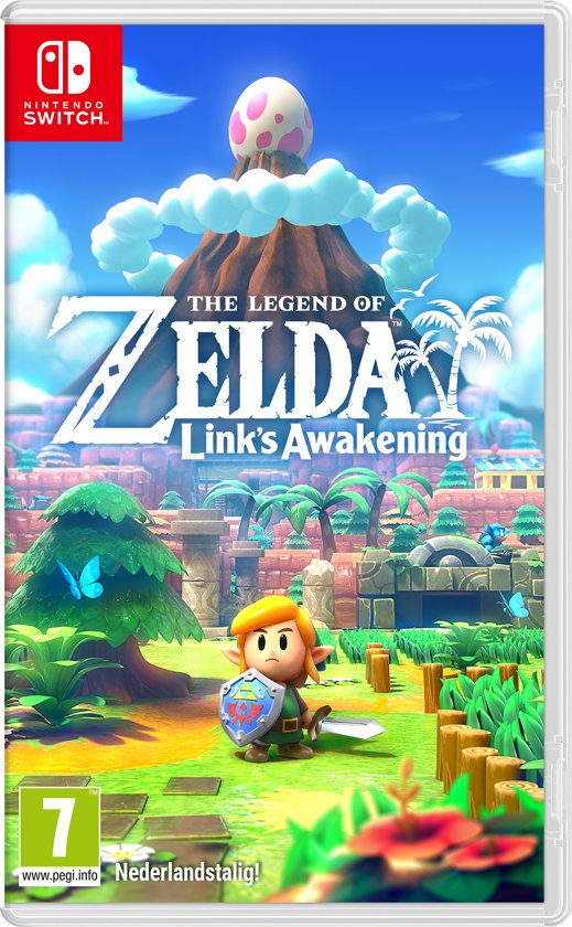 nintendo switch spelletjes,zelda links awakenings