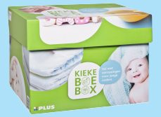 babybox,kiekeboebox plus markt,gratis babydoos