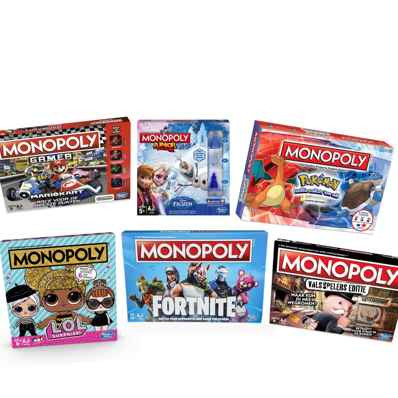 Monopoly Varianten