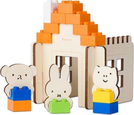 houten speelgoed,brikkon nijntje huis,duurzaam speelgoed