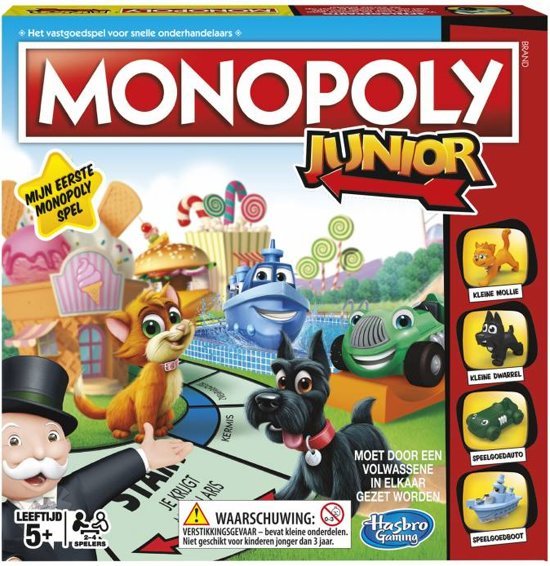 monopoly spel,junior
