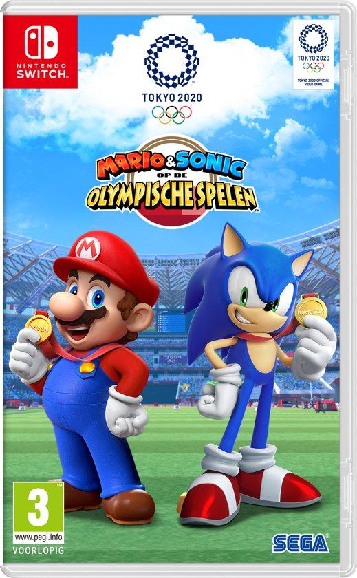 nintendo switch spelletjes,mario en sonic op de olympische spelen