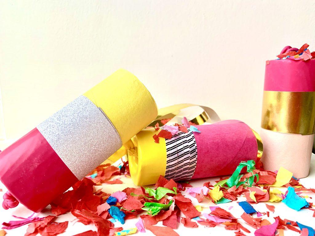 knutsel ideeen,confetti knallers