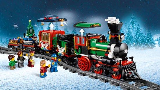 kerstspeelgoed,lego winter trein,lego kerst trein