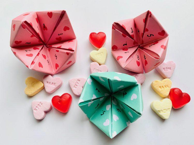 knutsel ideeen,valentijn knutselen,happertje maken,valentijns happertje maken,valentijnsdag knutselen