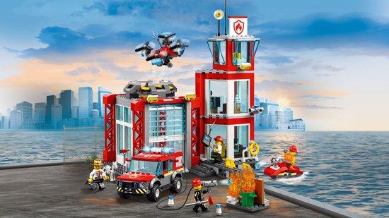 cadeau jongen vijf jaar,lego,lego brandweerkazerne