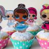 lol traktatie,lol surprise cupcakes,lol feestje,lol partijtje,lol verjaardag