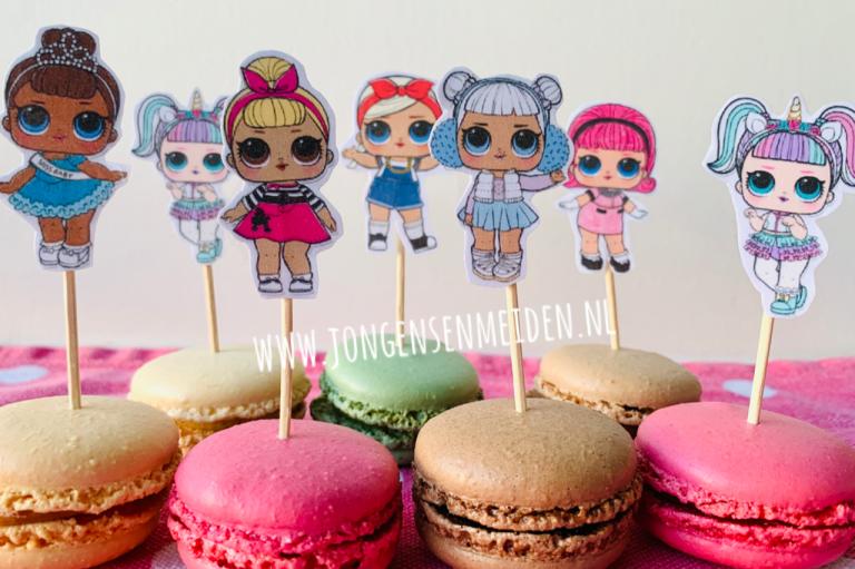 lol surprise macarons,lol traktaties,lol verjaardag,lol feestje